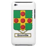 Escudo de la familia de Grenville Barely There iPod Protectores