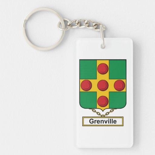 Escudo de la familia de Grenville Llaveros
