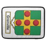 Escudo de la familia de Grenville Fundas Macbook Pro