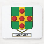 Escudo de la familia de Grenville Tapete De Ratón