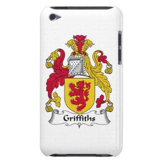 Escudo de la familia de Griffiths Case-Mate iPod Touch Cobertura