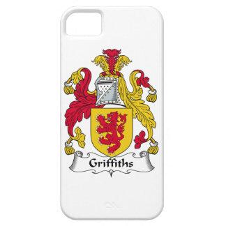 Escudo de la familia de Griffiths iPhone 5 Case-Mate Cobertura