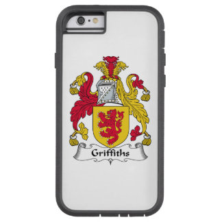 Escudo de la familia de Griffiths Funda De iPhone 6 Tough Xtreme