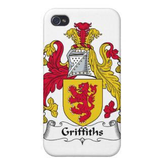 Escudo de la familia de Griffiths iPhone 4 Protectores