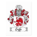 Escudo de la familia de Griffo Postal