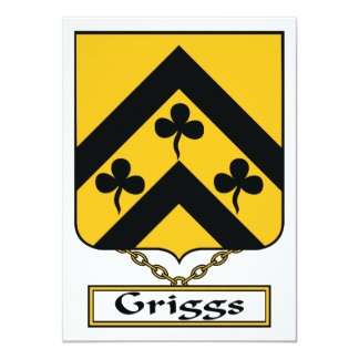 Escudo de la familia de Griggs Anuncios Personalizados