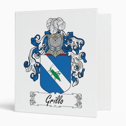 """Escudo de la familia de Grillo Carpeta 1"""""""