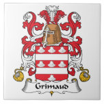 Escudo de la familia de Grimaud Tejas Ceramicas
