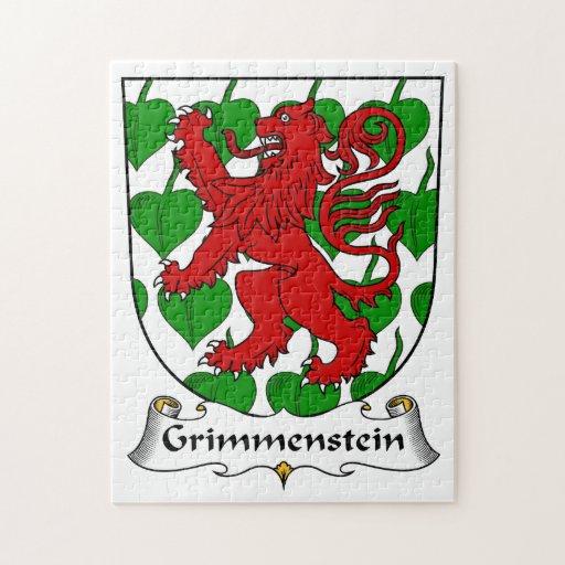 Escudo de la familia de Grimmenstein Rompecabezas Con Fotos