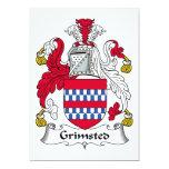 Escudo de la familia de Grimsted Anuncios Personalizados