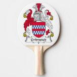 Escudo de la familia de Grimsted Pala De Ping Pong