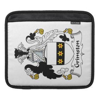 Escudo de la familia de Grimston Fundas Para iPads