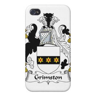 Escudo de la familia de Grimston iPhone 4 Funda