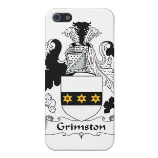Escudo de la familia de Grimston iPhone 5 Cárcasa