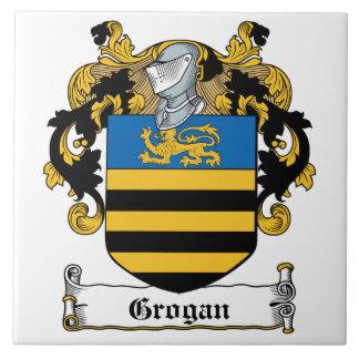 Escudo de la familia de Grogan Azulejos