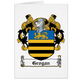 Escudo de la familia de Grogan Felicitaciones