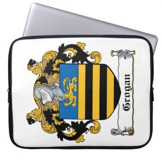 Escudo de la familia de Grogan Funda Portátil
