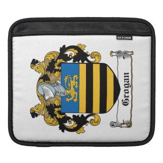 Escudo de la familia de Grogan Fundas Para iPads