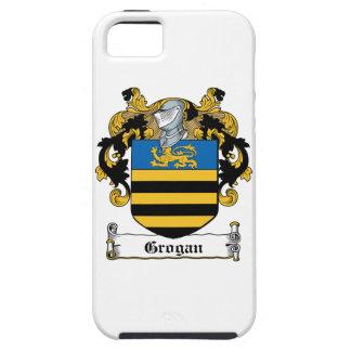 Escudo de la familia de Grogan iPhone 5 Carcasas
