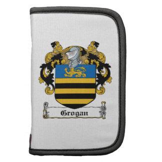 Escudo de la familia de Grogan Organizadores
