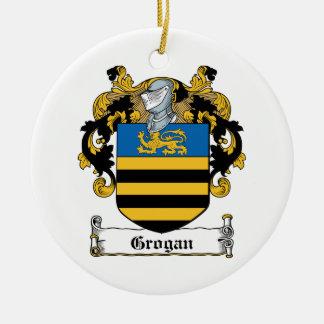 Escudo de la familia de Grogan Ornato