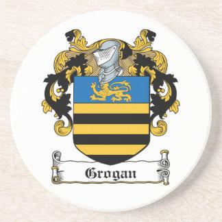 Escudo de la familia de Grogan Posavaso Para Bebida
