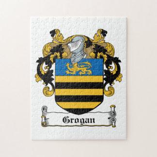 Escudo de la familia de Grogan Puzzles