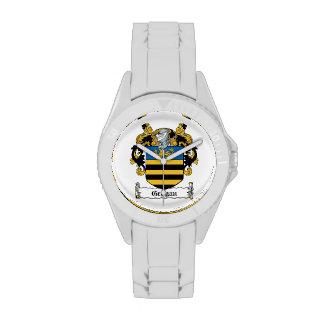 Escudo de la familia de Grogan Relojes