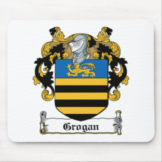 Escudo de la familia de Grogan Tapete De Ratón