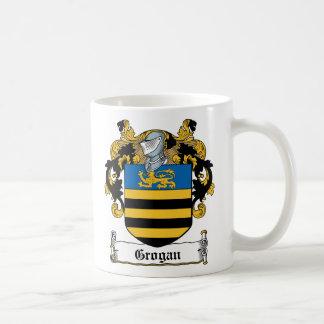 Escudo de la familia de Grogan Taza De Café