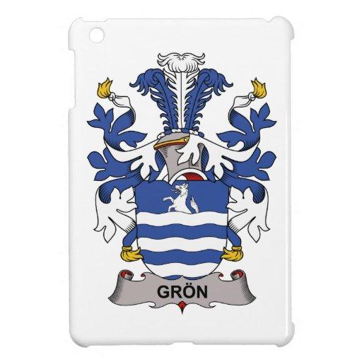 Escudo de la familia de Gron iPad Mini Protectores