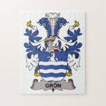 Escudo de la familia de Gron Rompecabeza