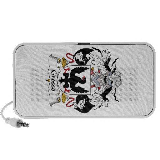 Escudo de la familia de Grosso iPod Altavoz