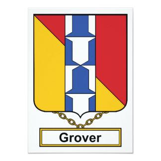 Escudo de la familia de Grover Anuncio Personalizado