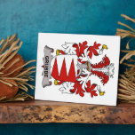 Escudo de la familia de Grubbe Placa De Madera