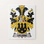 Escudo de la familia de Grubbe Rompecabeza