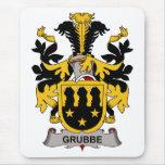 Escudo de la familia de Grubbe Tapetes De Ratones