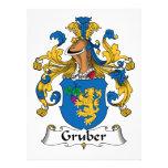 Escudo de la familia de Gruber Comunicados Personales