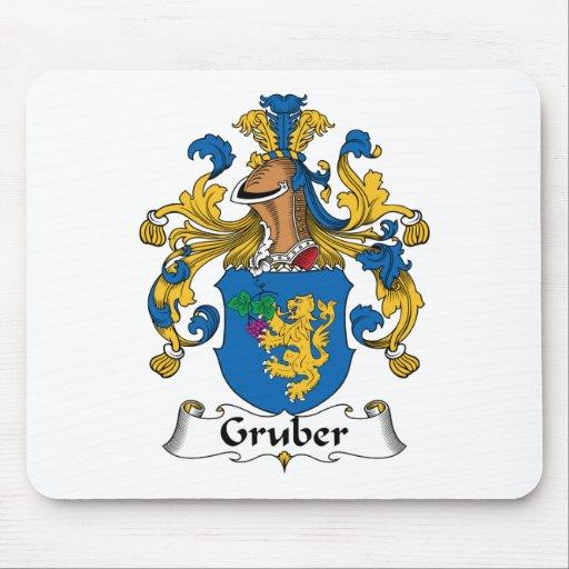 Escudo de la familia de Gruber Tapete De Raton