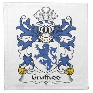 Escudo de la familia de Gruffudd Servilleta