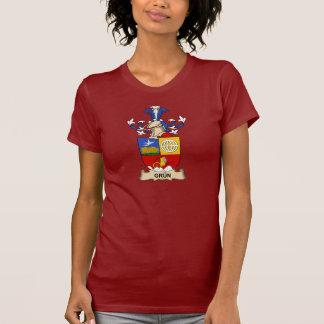 Escudo de la familia de Grün Camiseta