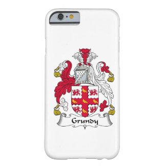 Escudo de la familia de Grundy Funda De iPhone 6 Barely There