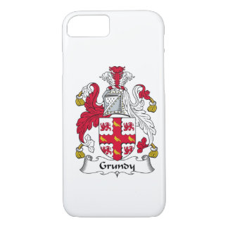 Escudo de la familia de Grundy Funda iPhone 7