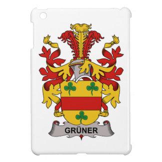 Escudo de la familia de Gruner iPad Mini Cobertura