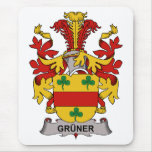 Escudo de la familia de Gruner Tapete De Ratones