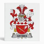 Escudo de la familia de Grymes