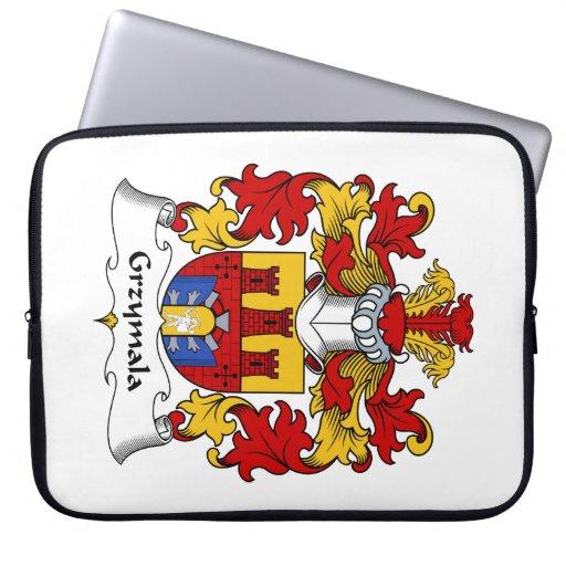 Escudo de la familia de Grzymala Funda Ordendadores