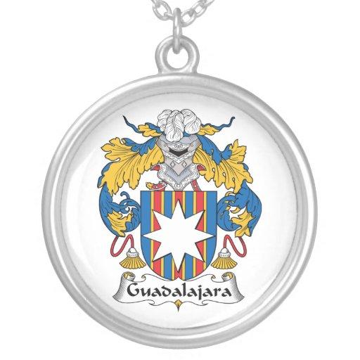 Escudo de la familia de Guadalajara Colgante Redondo