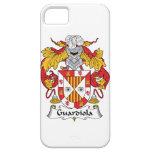 Escudo de la familia de Guardiola iPhone 5 Case-Mate Coberturas