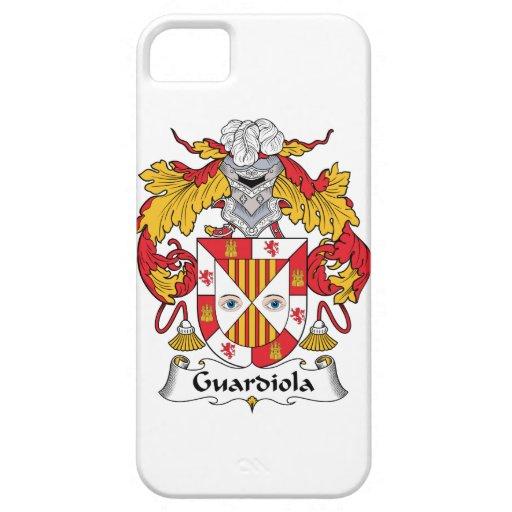 Escudo de la familia de Guardiola iPhone 5 Case-Mate Cobertura